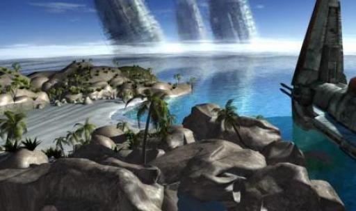 Lehon, un paradis jonché d'épaves de vaisseaux