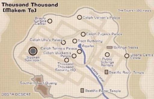 Plan des Mille Milliers