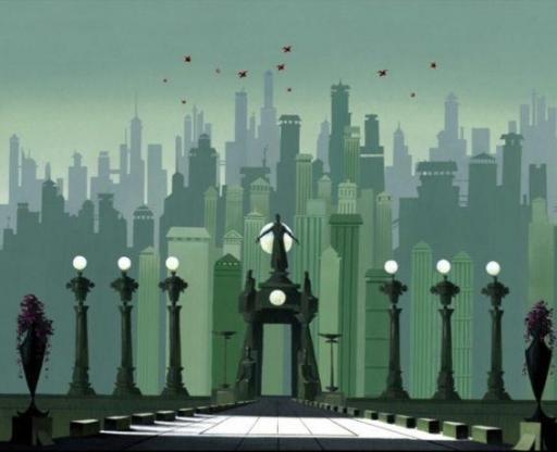 La ville d'Harnaidan
