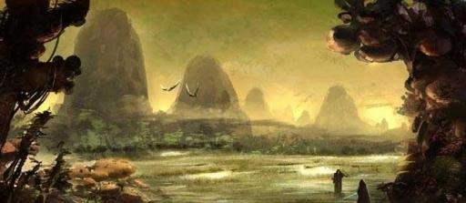 Les marais de Nal Hutta