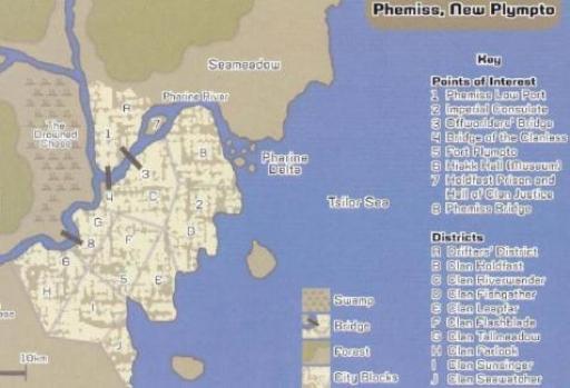 Plan de Phemiss, capitale planétaire