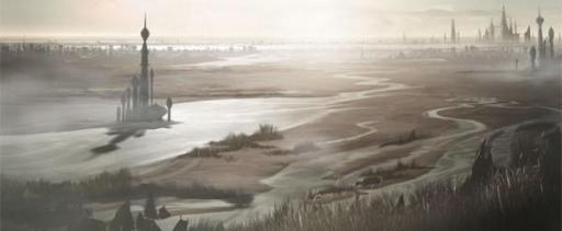 Un paysage de Pantora.