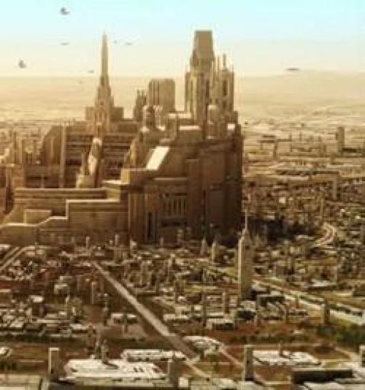 Vue urbanisée de Raxus.