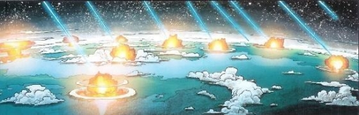 Serroco est bombardée par les Mandaloriens