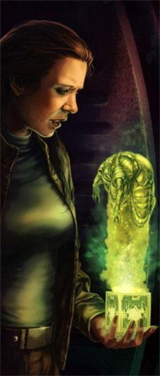 Leia et l'Holocron de Bodo Baas