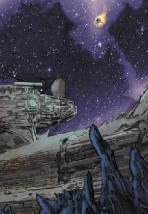 L'épave du Star Destroyer Impérial Anya Karu.