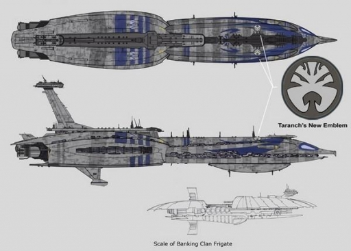Le Dreadnaught Séparatiste Invincible de l'Amiral Trench.