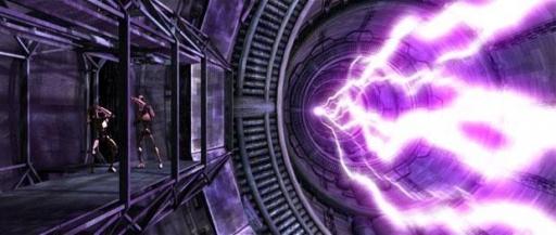 Le Malevolence fait tirer son super canon à ions