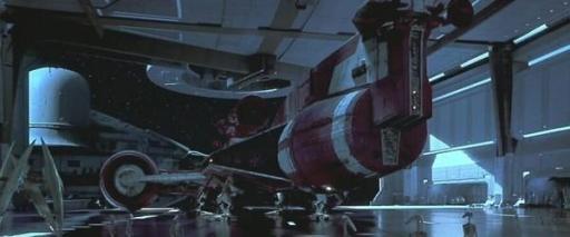 Le Radiant VII à bord du Vaisseau de combat de la Fédération du Commerce Saak'ak.