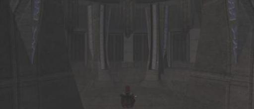 Visas Marr se reccueille dans sa chambre de méditation
