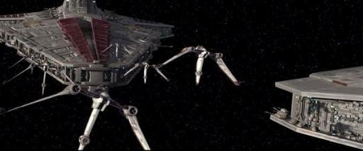 Le Resolute et l'Escadron Bleu lors de la Bataille de Ryloth.