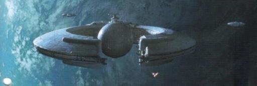 Le Vaisseau de combat de la Fédération du Commerce modifié Saak'ak.