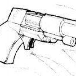 Pistolet à Balles de Poche Adjudicator