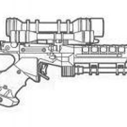 Pistolet Blaster Lourd Security S-5