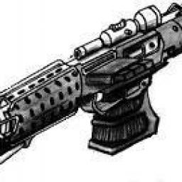 Pistolet Blaster Lourd T-6 Thunderer