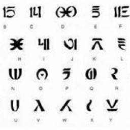 Alphabet Naboo