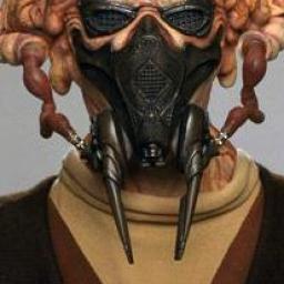 Masque à gaz d'Antiox