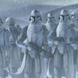 Illustration de Clone Snowtrooper