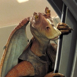 Illustration de Jar Jar Binks