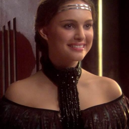 Illustration de Padmé Amidala