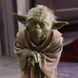 Illustration de Yoda