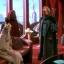 Palpatine reçoit la Reine Amidala dans sa suite du 500 Republica