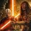 Revan et Malak furent les premiers à se proclamer Seigneurs Noirs, quoique sans lien tangible avec le Peuple Sith...