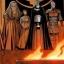 Les membres du Triumvirat.