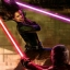 Duel entre Darth Caedus et le Sabre des Jedi