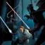 Anakin face à Dooku et Ventress.