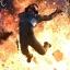 Explosion sur le Lawbringer