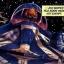 Le Maître Jedi Plo Koon et deux chasseurs de la 127ème Aile de Canonnières en orbite de Cato Neimoidia.