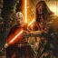 Darth Revan et Darth Malak