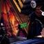 Le Sith Darth Tyranus congédie sa servante : la Jedi Noire Asajj Ventress