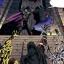"""Les Sith """"créés"""" par Exar Kun grâce à d'anciens Esprits Sith acclament leur maître."""