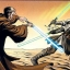 Kenobi affronte Hett