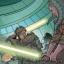Le duel entre Zayne et le maître Raana Tey