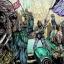 Les Aqualish fêtent la sécession d'Ando à Quantill City