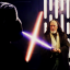 Obi-Wan contre Vader