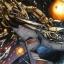 Un Chasseur Aurek se fait détruire par un vaisseau mandalorien
