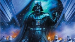 "Couv' et synopsis de ""Darth Vader and the Lost Command"""