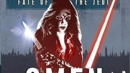 Couverture de Omen, le tome 2 de Fate of the Jedi