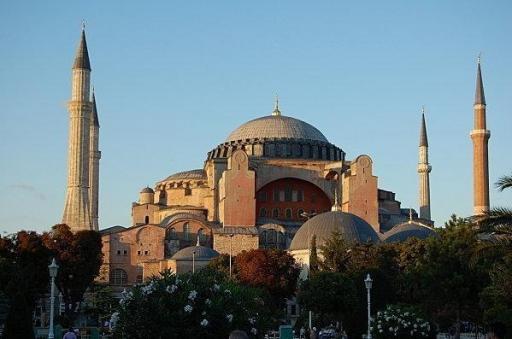 La Basilique Sainte Sophie d'Istanbul.
