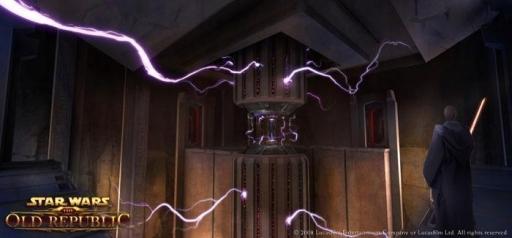 Une cellule d'emprisonnement Sith