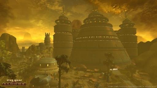 Le palais d'un Seigneur du Crime Hutt