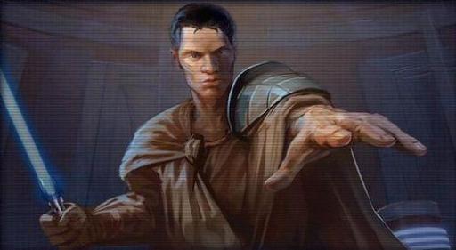 Le jeune Exar Kun, membre de l'Ordre Jedi