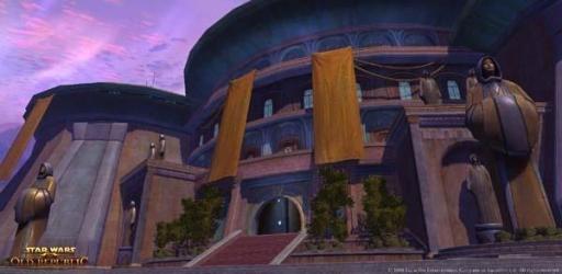 L'architecture de la planète Tython