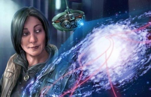 Corellia Antilles, xénoarchéologue, représentée pour la seconde fois depuis une image dans un Star Wars Adventure Journal