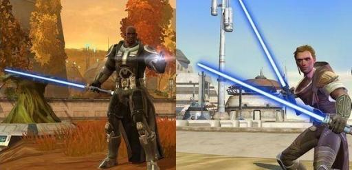 Gardien (à gauche) et Sentinelle (à droite)