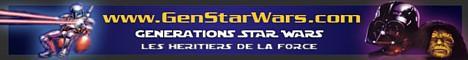 Bannière de Générations Star Wars